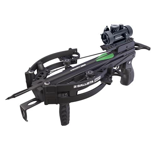 BALLISTA BAT Compound Crossbow Pistol - Fast 300fps, Powerful 120lbs, Mini 2.2lbs