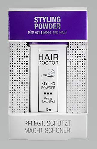 HAIR DOCTOR - STYLING POWDER - Professionelles Haarpuder für Volumen Boost Effekt für Männer und Frauen