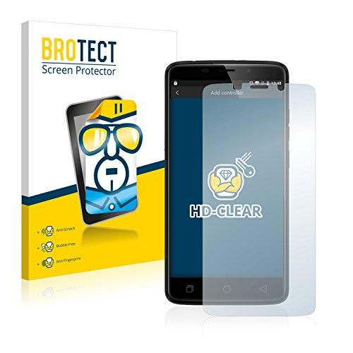 BROTECT Schutzfolie kompatibel mit Ulefone Vienna (2 Stück) klare Bildschirmschutz-Folie