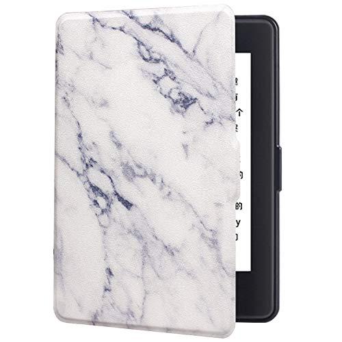 Custodia Amazon Kindle 2016 8th Generazione Cover Kindle Basic 2 Pelle Silicone Flip 360° Protezione Shell Automatici Svegliati o Sonno Funzione Magnetico Case per Kindle 8 (Modello 13)