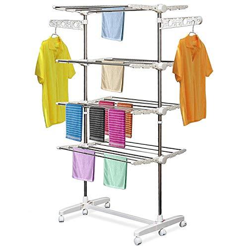 HOMCOM Mobiler Wäscheständer Bild