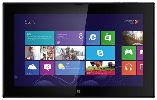 Nokia Lumia 2520 Tablet - 10,1 Zoll 1080p kristallklaren IPS-Bildschirm, Quad-Core-CPU 2,2 GHz, 4G LTE, 2 GB RAM, volle MS Office Suite, 32 GB, GPS-Navigationssoftware, Power Keyboard Dock - Schwarz