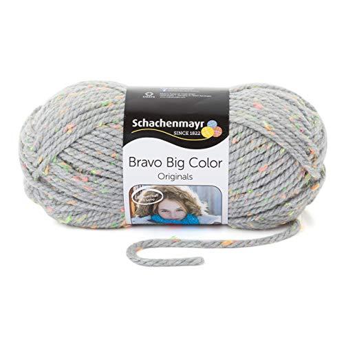 Schachenmayr Bravo Big Color 9807720-00391 hellgrau tweed Handstrickgarn