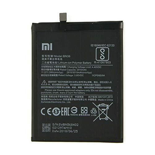 Batería de repuesto para Xiaomi Mi A2 Lite Redmi 6 Pro BN47 4000 mAh