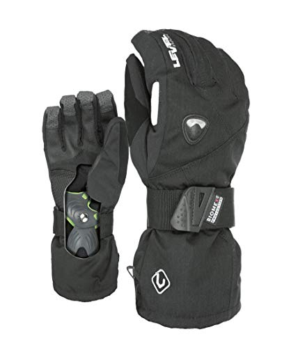 Level Herren Handschuhe Fly, Black, 8,5