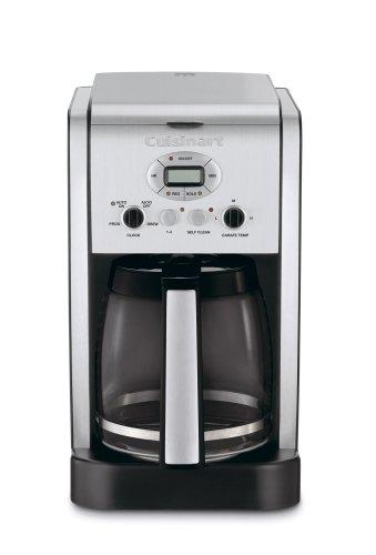 Cuisinart dcc-2600Brew central 14-cup programable cafetera con jarra de cristal plata