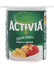 Activia Peach & Apricot Yoghurt - 120 gram