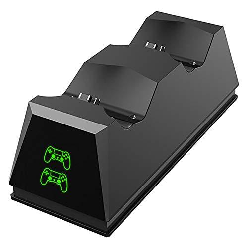 PIGMAMA Estación de Carga del Controlador PS4, estación de Carga USB del Controlador para DualShock 4, estación de Carga Playstation 4 para Sony Playstation4 / PS4 / PS4 Slim / PS4 Pro Classy