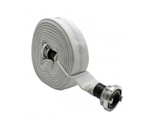 Stabilo-Sanitaer Bauschlauch A-Schlauch mit Storz 4 Zoll 100mm 20m 10bar Industrieschlauch G/ülleschlauch THW Feuerwehrschlauch Abwasserschlauch