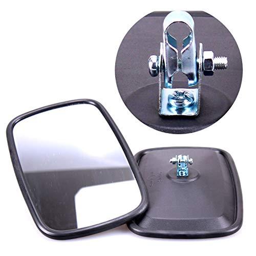 TRUCK DUCK® 2x Universal Rückspiegel 232x145mm Außenspiegel Seitenspiegel Set für Traktor Bagger LKW Wohnmobil
