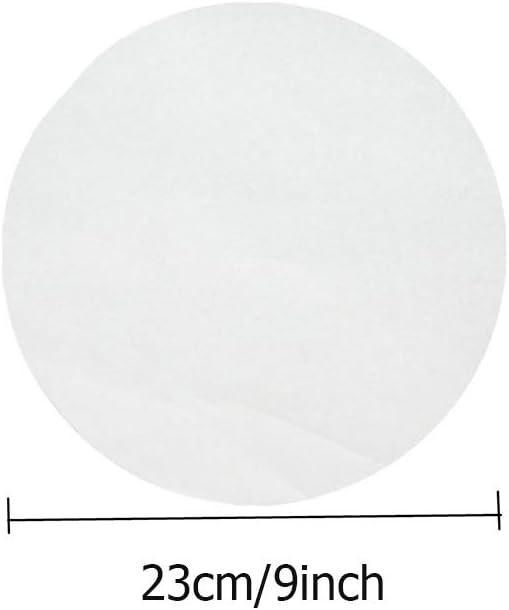 Grill Dampf Hamburger 23CM 100PCS Polly Online Backpapier Antihaft-Backpapier f/ür Backpapier f/ür Pfannen