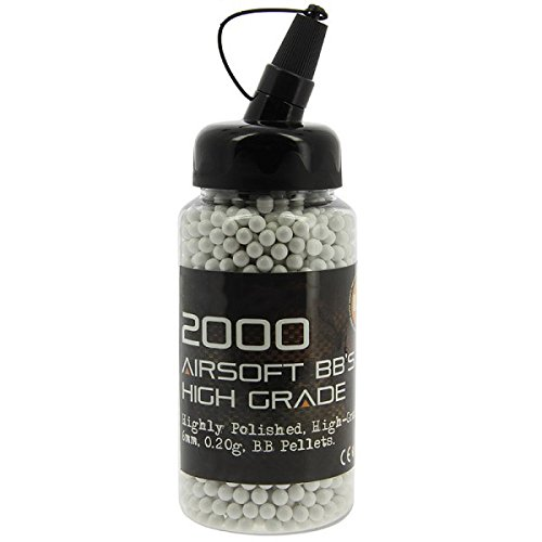 g8ds Softair Munition Airsoft 6mm BB weiß Poliert 2000 Stk 0,20g im Beutel