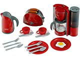 Theo Klein 9564 Set de desayuno Bosch, Set de cocina formado