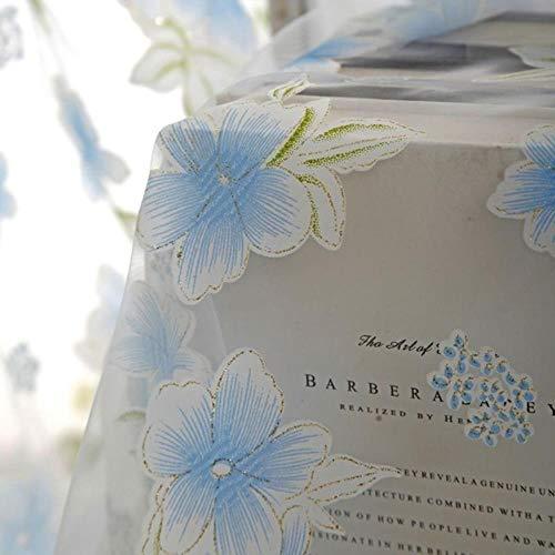 Tule Gordijnen Slaapkamer Gordijnen Keukenraam Tulp Bloemen Bedrukt Balkon Zonwering Doorschijnend 11% Gordijnen, L, Verenigde Staten