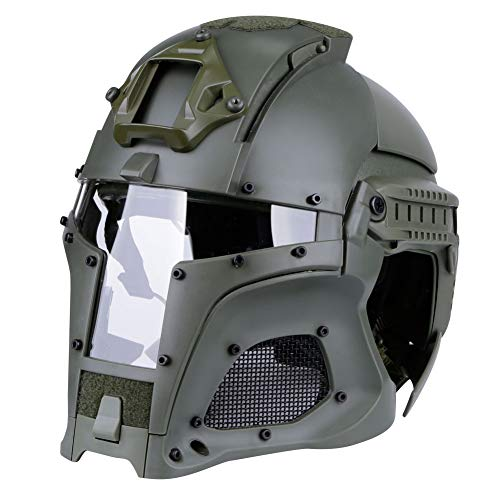 Lejie Taktisch Militär Ballistischen Helm Seitenschiene NVG Shroud Transfer Base Armee Kampf Airsoft Paintball Volles Gesicht Maske Helm
