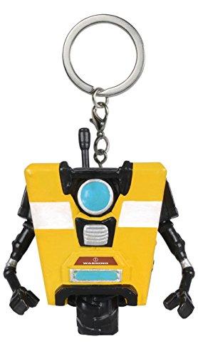 Funko 9168 Borderlands 9168-PDQ POP Claptrap Pocket Keychain Figure