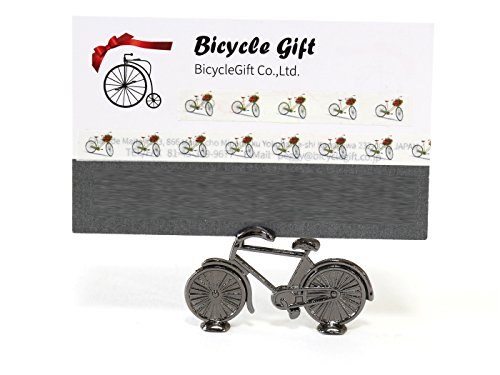 1個入り 自転車 結婚式 パーティ用 テーブルナンバー スタンド 席札 メッセージカード ミニ