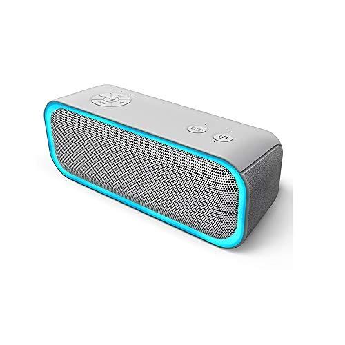 XZJJZ Wireless Bluetooth Lautsprecher 2 * 10 Treiber mit blinkenden...