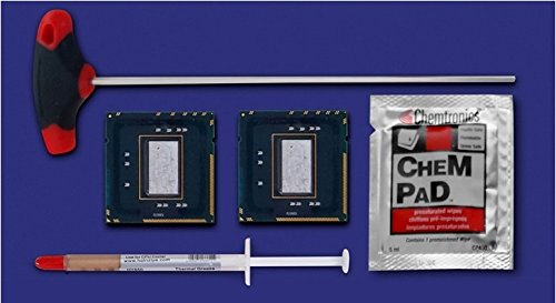 Mihatsch Trading Six Core Upgrade Kit für Apple MacPro 4,1 5,1 - Intel Xeon X5675/X5680/X5690 3.06/3.33/3.46GHz CPU + Werkzeug + optional RAM (2X X5690 3.46GHz ohne IHS MacPro 4,1, no RAM)