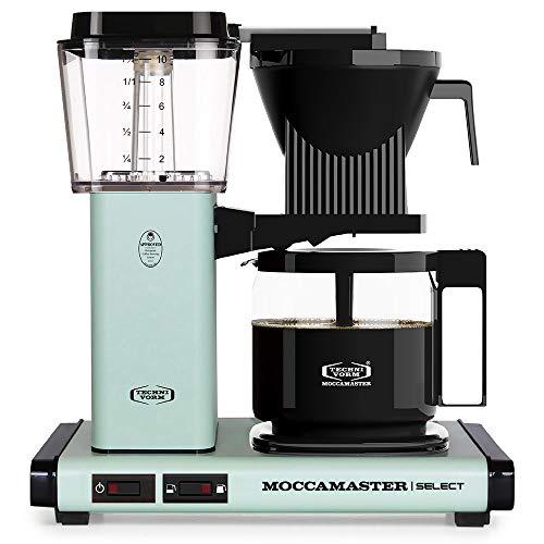 Moccamaster Filter Kaffeemaschine KBG Select, 1.25 Liter, 1520 W, Pastel Green