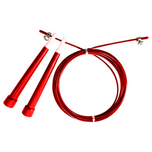 Aasta - Corda per saltare, corda per saltare, velocità regolabile, Rosso
