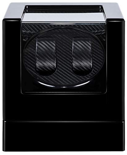 Kalawen Double Automatic Watch Winder with 5 Rotation Mode, Mute Japanese Motor, Dual Watches...