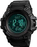 Reloj digital para hombre, brújula, contador de calorías, altímetro, barómetro, temperatura,...