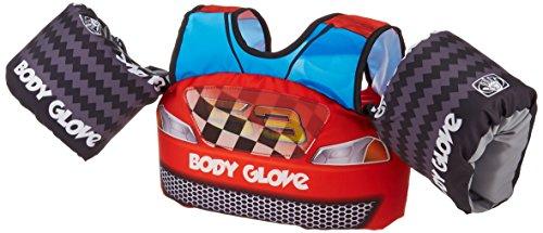 Body Glove 13226H Kids 13226M Paddle Pals Motion Swim Life Jacket, Race Car