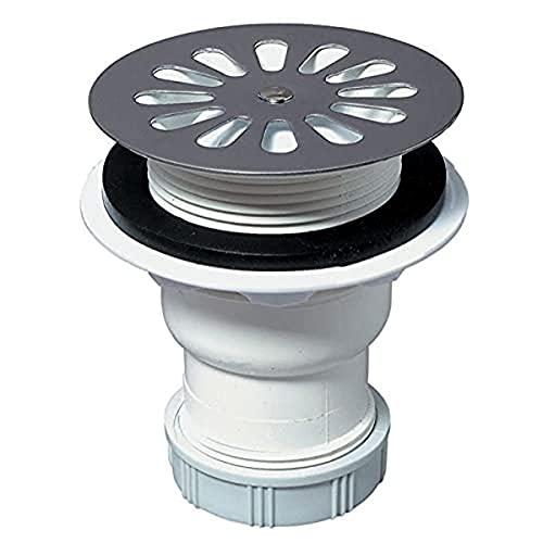 Wirquin 30720112 - Bonde de douche pour receveur D60mm Blanc