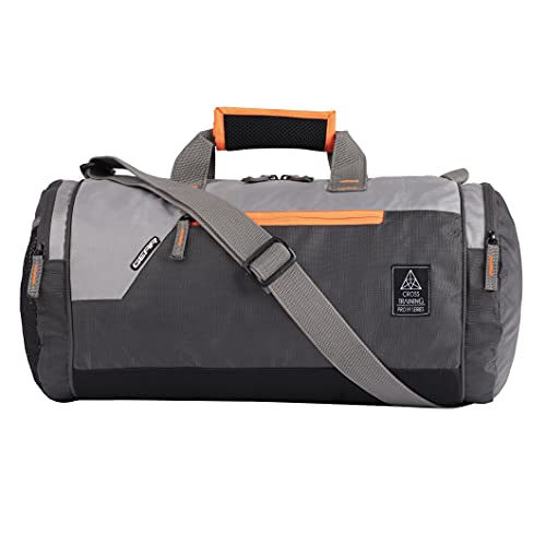 Gear Cross Training Travel Duffel Grey Orange (DUFCRSTNG0406)