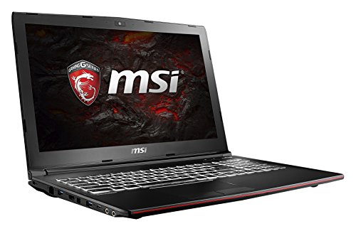 MSI GP62MVR 7RF-400DE Leopard Pro (39,6 cm/15,6 Zoll) Gaming-Laptop (Intel Core i7-7700HQ, 1000GB Festplatte, 16GB RAM, Nvidia GeForce GTX 1060, Windows 10 Home) schwarz GP62