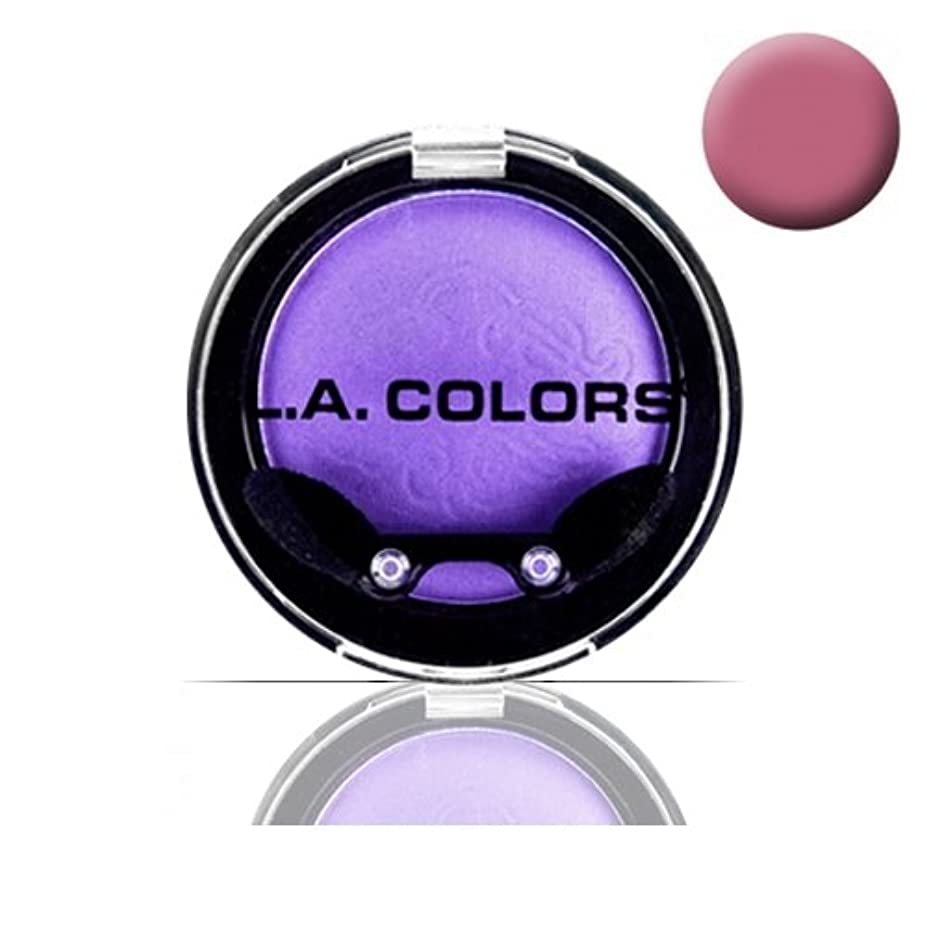 意図的キャリアキャベツ(3 Pack) LA COLOR Eyeshadow Pot - Fuchsia (並行輸入品)