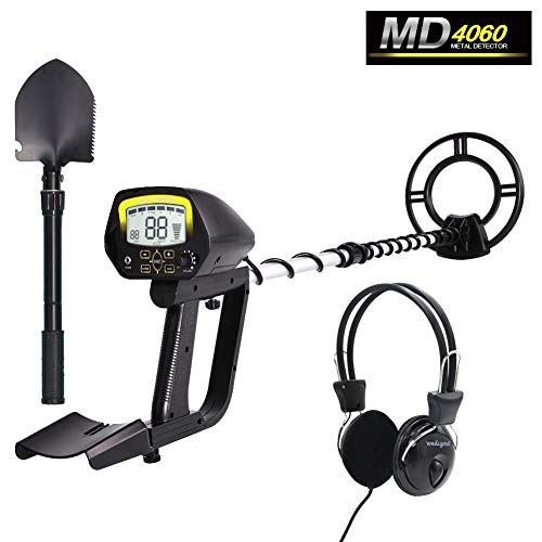 Wedigout Metal Detector Professional Detectors Underground Treasure Finder (Stretch 24-33.46 Inches) MD-4060 Detectors Metal
