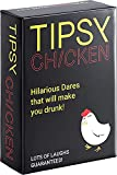 Tipsy Chicken, Drinking Party Card Game for Adults, Outrageously Fun Dares for Game Night