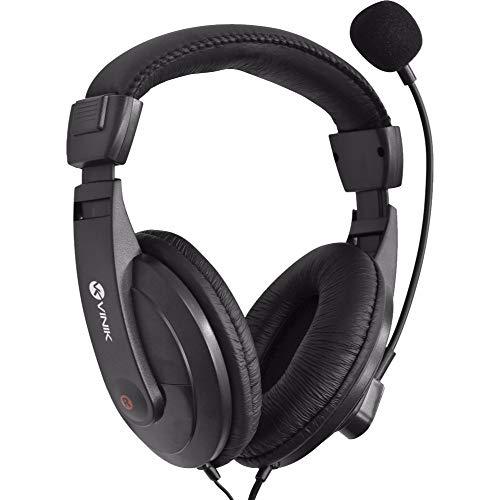 FONE HEADSET GO PLAY FM35 PRETO COM MICROFONE, VINIK, 20202