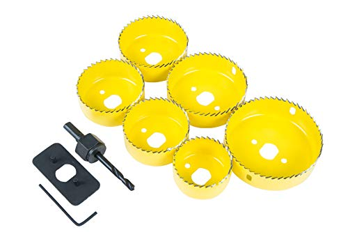 Blue Spot Tools 20511 - Kit di installazione faretto (9 pezzi)