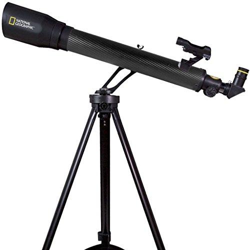 Bresser National Geographic CF700SM Black Carbon Fiber Telescope...