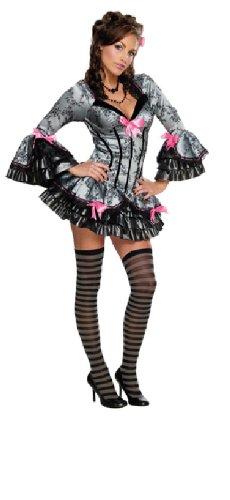 Rubie's Karneval Damen Kostüm French Kiss im Barock Stil zu Fasching Größe S