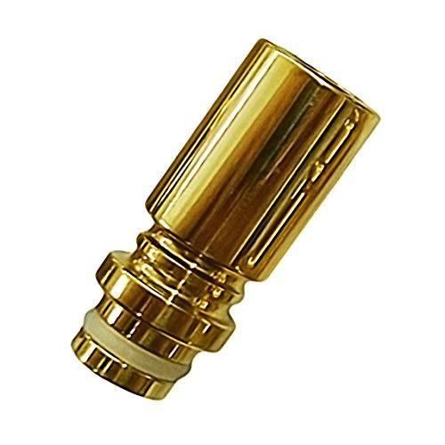 510 Gold Drip Tip, mit 24 Karat vergoldet/galvanisiert, edle Mundstücke für E-Zigaretten, E-Shisha (104#24k)