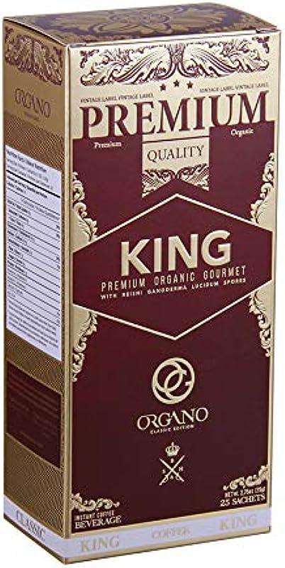 Organo Gold King Of Coffee Organic Premium Ganoderma Lucidum U S A Packaging 1 Box