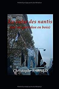La valse des nantis (sur un guéridon en bois) par Christophe Tabard