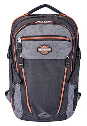 Harley-Davidson Bar & Shield Road Runner Backpack - Gray w/Rust Trim 99119