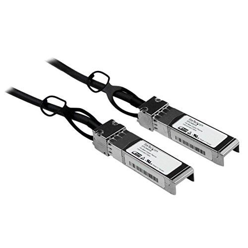 StarTech.com SFPCMM1M Cisco kompatibles SFP+ Twinax Kabel (1m, 10GBASE-CU SFP+ Direct Attach, passiv, 10Gigabit Kupfer Netzwerkkabel)