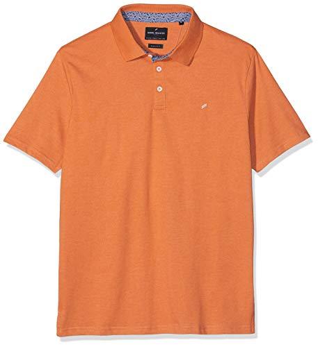 Daniel Hechter Herren Polo Poloshirt, Orange (Orange 170), Large (Herstellergröße: L)