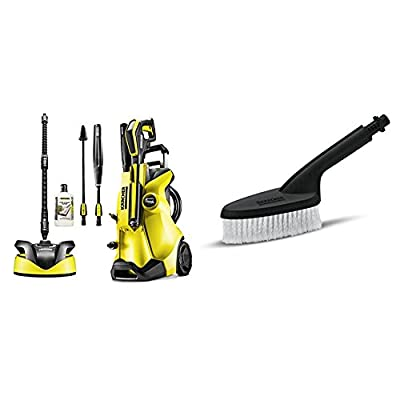 Karcher K4 Full Control Home Pressure Washer + Car Wash Brush, Pressure Washer Accessory by