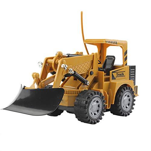 PBTRM 2.4Ghz RC Ferngesteuerter Baustellen-Fahrzeug Schnee Kehrmaschine, Modell Engineering Fahrzeug Schwenkbarer Schaufel Kinder Spielzeug Geburtstag