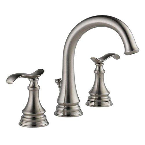 DELTA FAUCET 35730LF-SP Kinley Widespread Bathroom Faucet