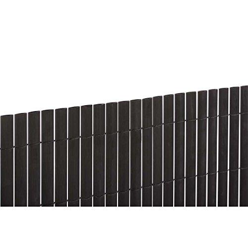 Catral 42010085 Cañizo D/C, Negro, 300 x 3 x 150 cm
