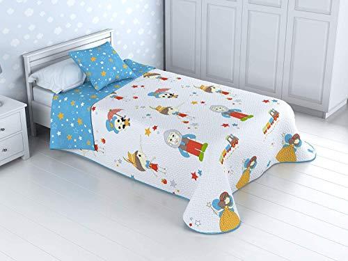 HM'S HOME'SECRET Basic Kinder-Tagesdecke Bouti...