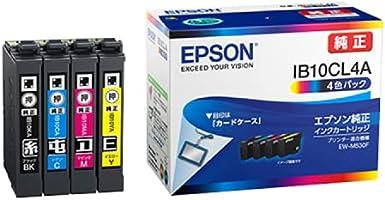 エプソン 純正 インクカートリッジ カードケース IB10CL4A 4色パック